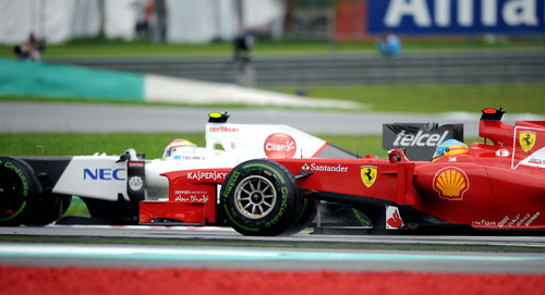 Alonso gana el GP de Malasia de F-1 2012 (2)