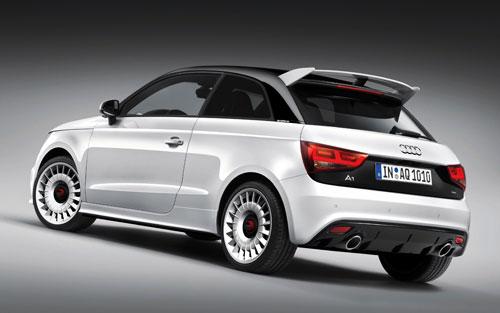 Audi A1 Quattro (trasera)