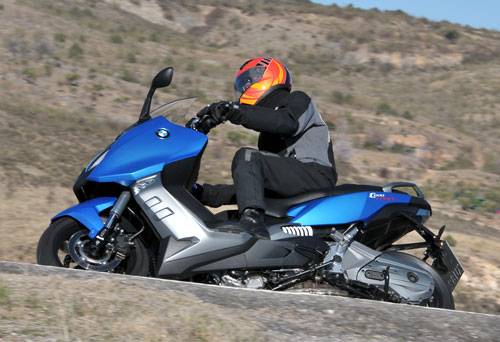 BMW C 600 Sport (lateral)