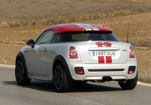 Mini Coupé John Cooper Works (trasera)