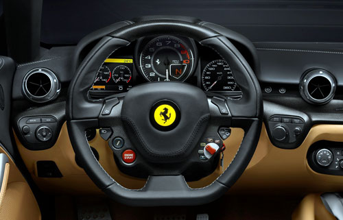 Ferrari F12berlinetta (interior)