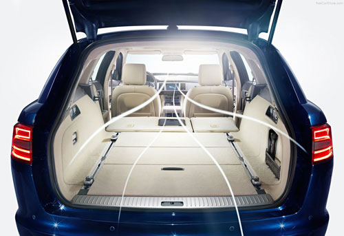 Jaguar XF Sportbreak (maletero)