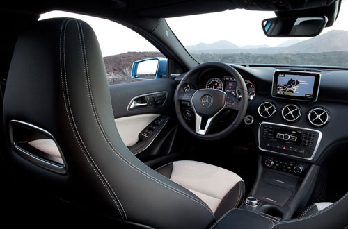 Mercedes-Benz Clase A (interior)