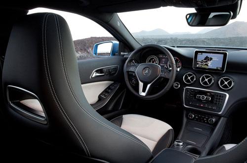 Mercedes-Benz Clase A (interior)
