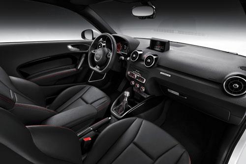 Audi A1 Quattro (interior)