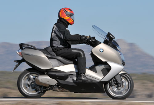 BMW C 650 GT (lateral)