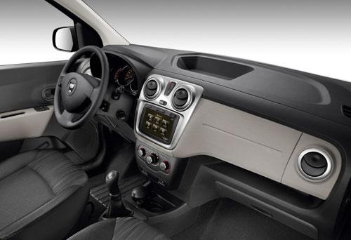 Dacia Lodgy (interior) aprovechamiento máximo