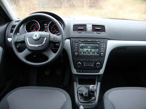 Skoda Yeti TDI 140 (interior)