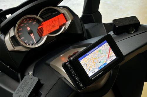 BMW C 600 Sport (instrumentacion)