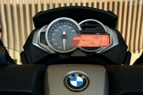 BMW C 650 GT (instrumentacion)