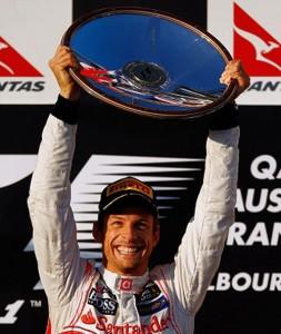F1 Australia Button