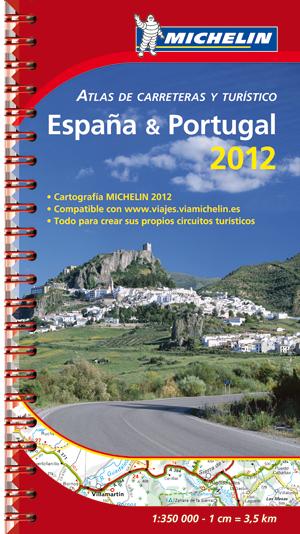 Michelin Atlas de Carreteras y Turístico España & Portugal 2012