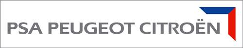 Logotipo PSA Peugeot-Citroën alianza