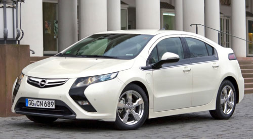 Opel Ampera - Coche del año - Car of the Year 2012