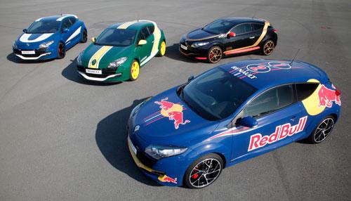 Renault Megane RS (con los colores de la F-1)