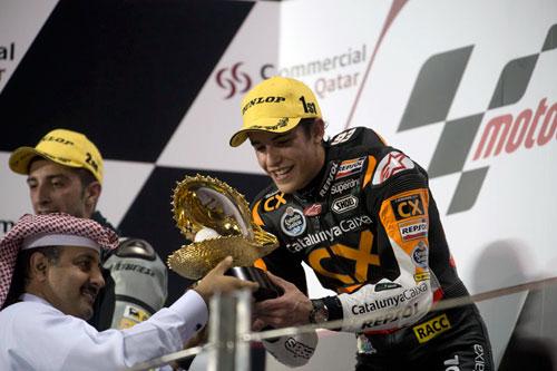 Marc Marquez Qatar Moto2