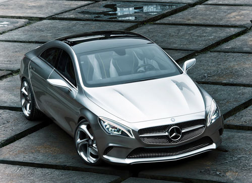 Mercedes-Benz Concept Style Coupé (frontal)
