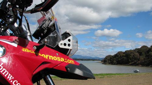 Alicia Sornosa y Descubierta llegan a Tasmania (1)