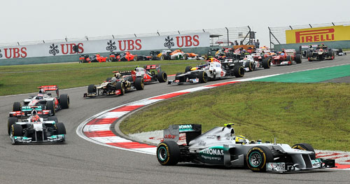Fórmula 1 - GP China (1)