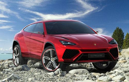 Lamborghini Urus Concept (frontal)