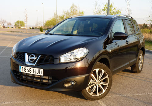 Nissan Qashqai+2 1.6 dCi Tekna Premium 4x2 (frontal)