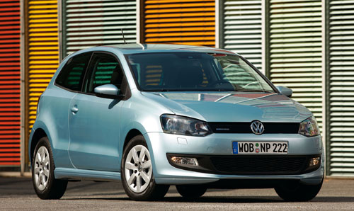 Vokswagen Polo Bluemotion (frontal)