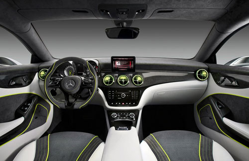 Mercedes-Benz Concept Style Coupé (interior)