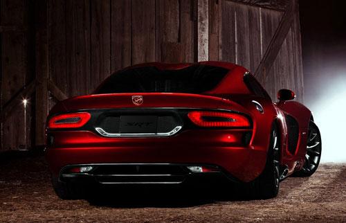 Dodge SRT Viper GTS (trasera)