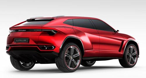 Lamborghini Urus Concept (trasera)