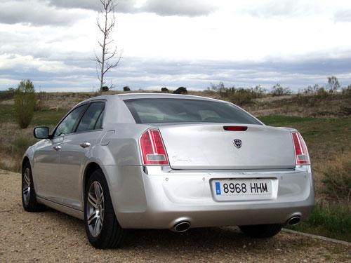 Lancia Thema 3.0 V6 CRD 190 CV Platinum (trasera)