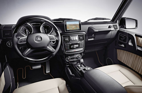 Mercedes-Benz Clase G (interior)
