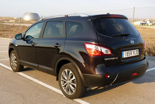 Nissan Qashqai+2 1.6 dCi Tekna Premium 4x2 (trasera)