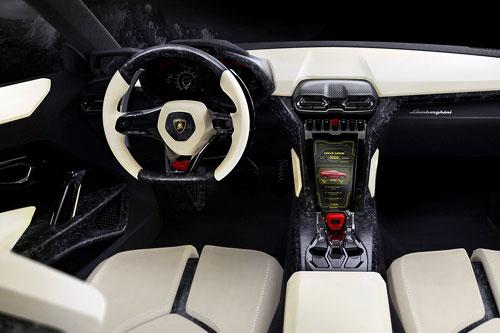 Lamborghini Urus Concept (interior)