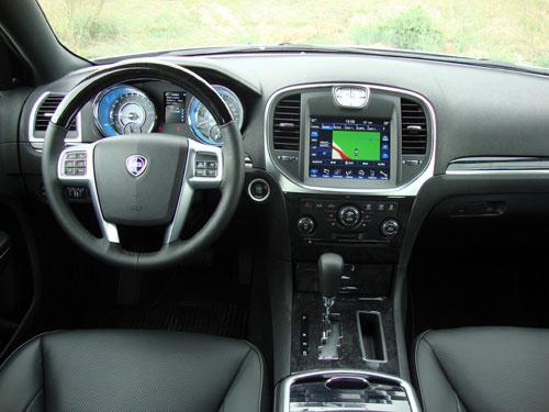 Lancia Thema 3.0 V6 CRD 190 CV Platinum (interior)