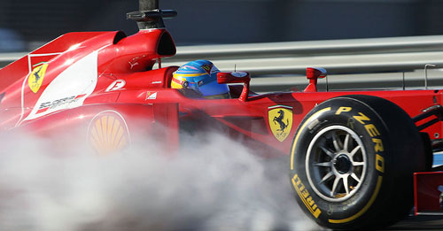 Sorteo de entradas para la Fórmula 1 - Grupo Fiat