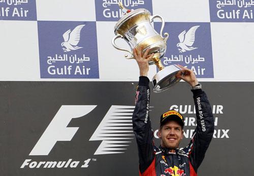 Vettel gana en Bahrein - Fórmula 1