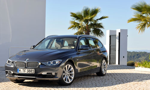 BMW Serie 3 Touring (frontal)