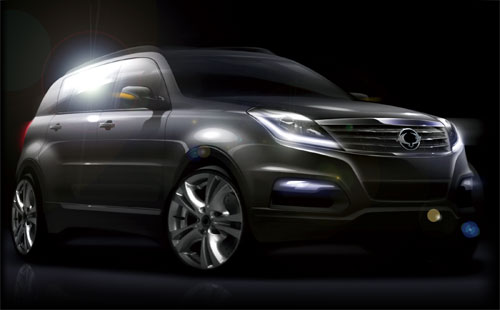 SsangYong Rexton III (frontal)