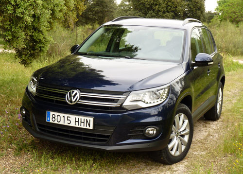 volkswagen tiguan 2 0 tdi 110 cv t1 gran descubrimiento. Black Bedroom Furniture Sets. Home Design Ideas