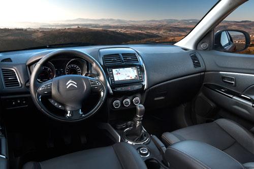 Citroën C4 Aircross (interior)