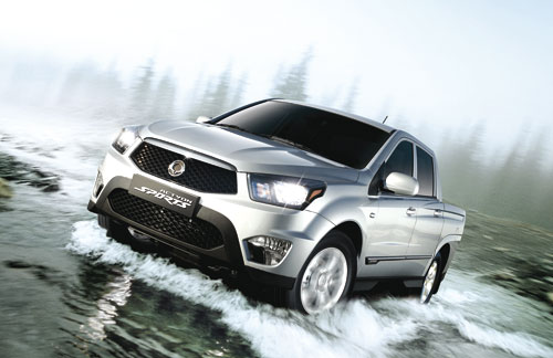 SsangYong Actyon Sports (frontal 2)