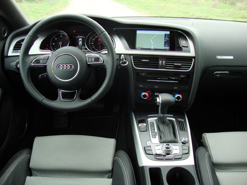 Audi A5 Sportback (interior)