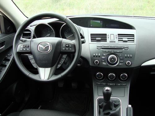 Mazda 3 2.0 DISI Sportive 5p (interior)