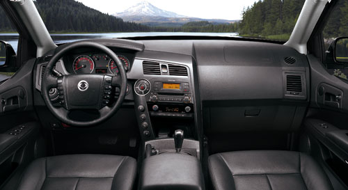 SsangYong Actyon Sports (interior)