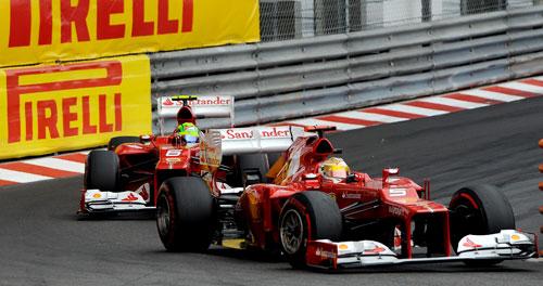 Alonso F1 Monaco 2012