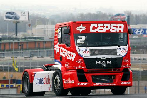 Europeo de camiones - Antonio Albacete - CEPSA