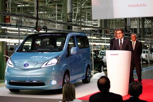 Furgoneta electrica Nissan