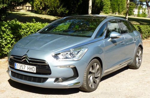 Citroën DS5 2.0 HDI Sport 163 CV (frontal)