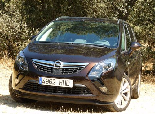Opel Zafira 2.0 CDTi 165 CV (frontal)