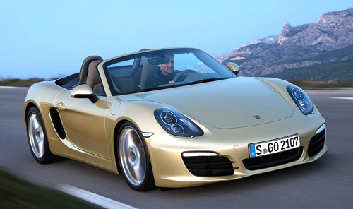 Porsche Boxster (frontal)